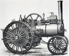 Edwin Foden's Patented 6 H.P. Road Locomotive (1883)
