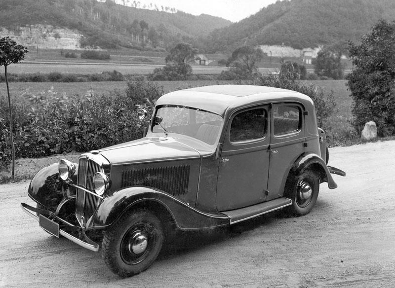 Škoda 633 – Menší šestiválec | Automobil Revue