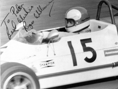 Roger Williamson za volantem vozu March 713M (1972)