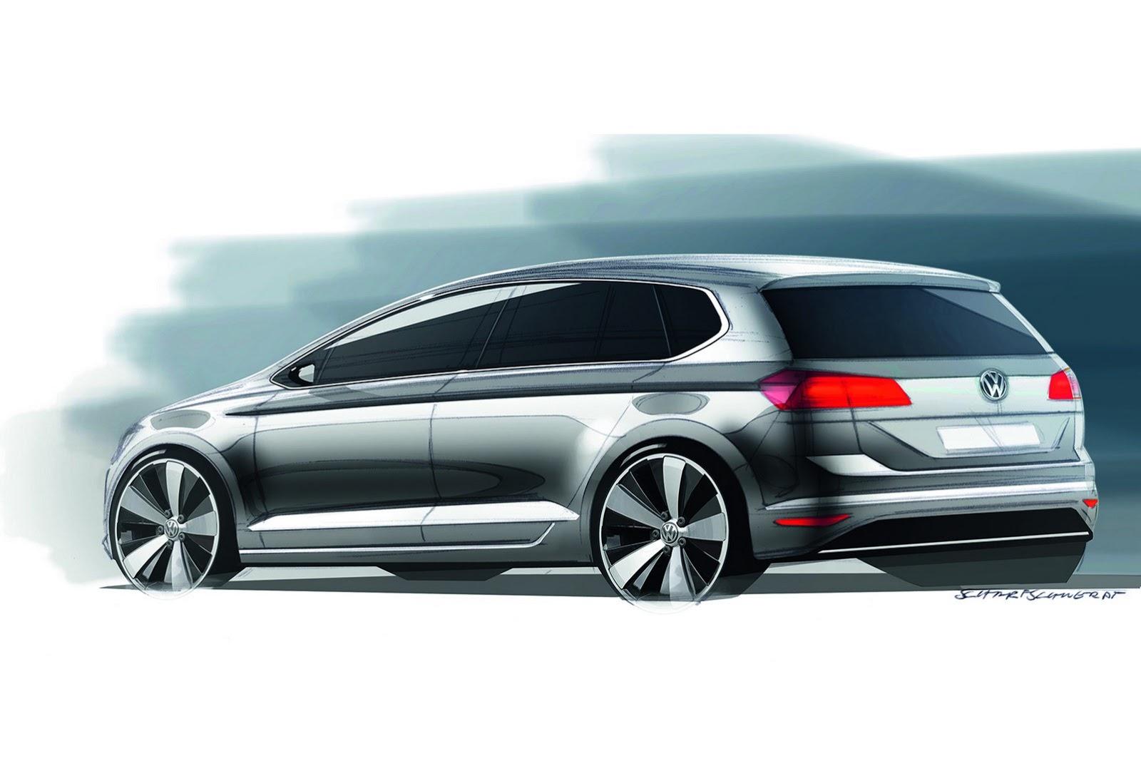 Volkswagen Golf Sportsvan: Golf Plus se blíží | Automobil Revue