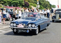 Ford Capri na London to Southend-on-Sea Classic Car Run v roce 2000