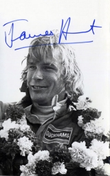 James Hunt jako jezdec Hesketh Racing (1974)