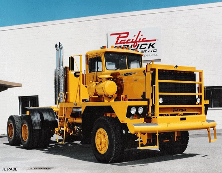 Pacific truck trailer ltd made in canada automobil revue for Hayes motor company trucks