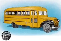 Thomas School Bus na podvozku Chevrolet (model 1940)