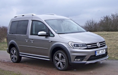 VW Caddy Alltrack 4Motion