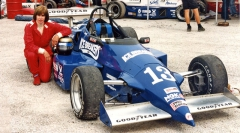 Divina Galica ve formuli Barber Dodge (Mid Ohio 1996)