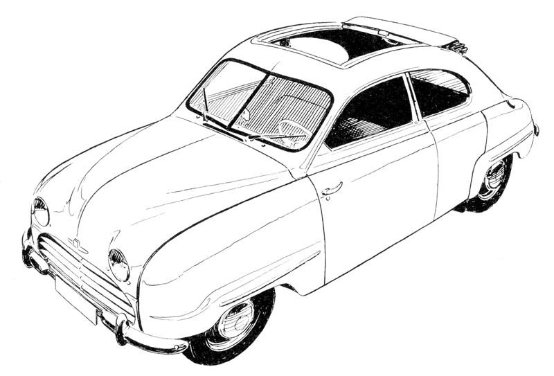 Saab 92 96 1946 1980 Jak To Zaalo