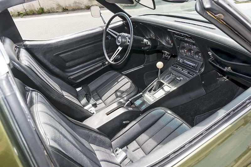 Chevrolet Corvette C3 454 1970 V Jinm Svt Automobil Revue