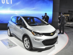 Chevrolet Bolt Electric Vehicle, oceněný titulem North American Car of the Year 2017