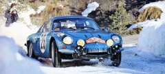 Ove Andersson (Alpine A110 1600S) vyhrál Rally Monte Carlo 1971